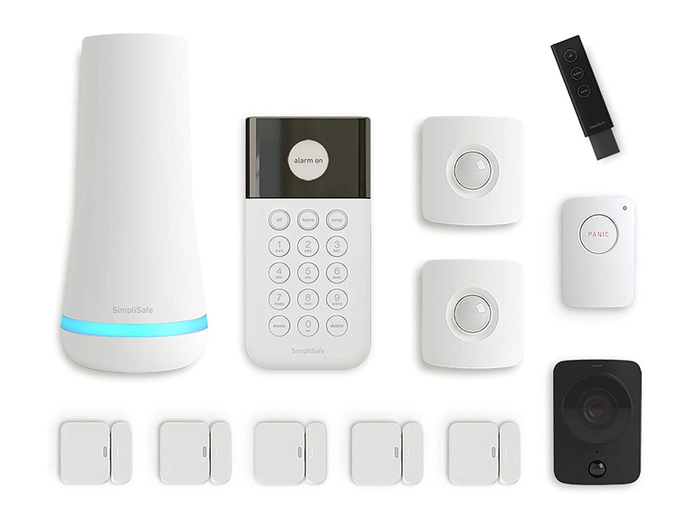 SimpliSafe-Monitor-all-door-and-windows The Google Home compatible security system to use? One of them