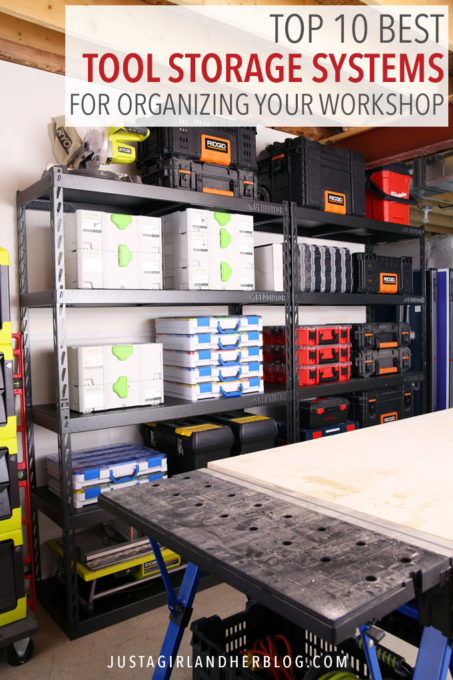 Top 10 Best Tool Storage Systems for Organizing a Workshop | Tool .