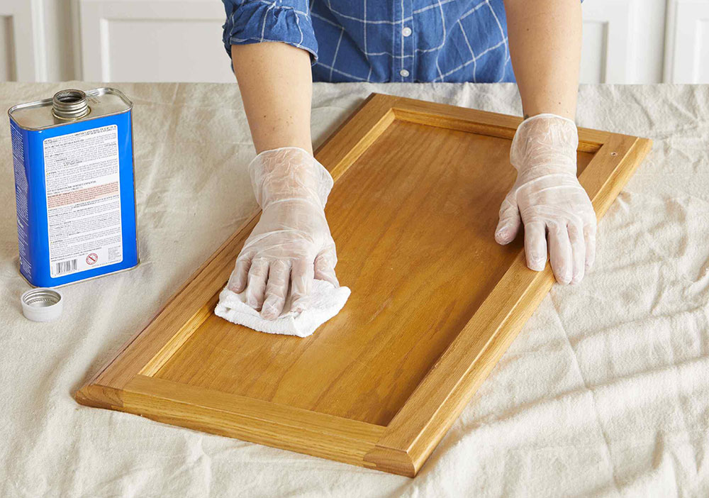 deglosser How to paint kitchen cabinets without sanding