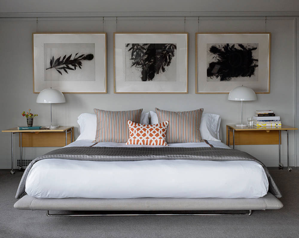 Pacific-Heights-by-JKA-Design How to hang pictures on plaster walls and let them stick there