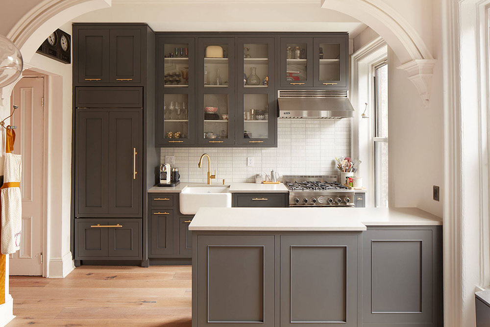 Park-Slope-Townhouse-Renovation-by-Studio-Geiger-Architecture How to update kitchen cabinets without replacing them