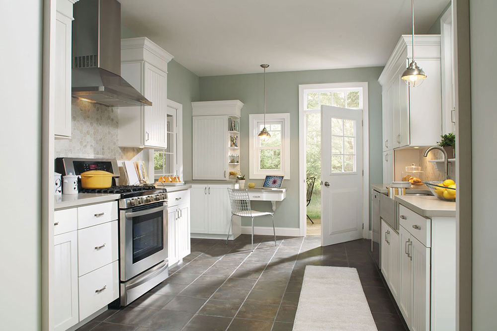 Aristokraft-Ellsworth-Kitchen-Cabinets-from-MasterBrand-Cabinets-Inc.  How to update kitchen cabinets without replacing them