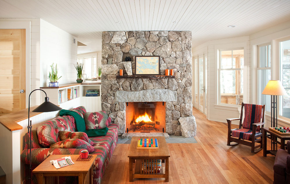 Living-room-and-fireplace-by-Whitten-Architects How much does it cost to build a fireplace and a fireplace? (Replied)