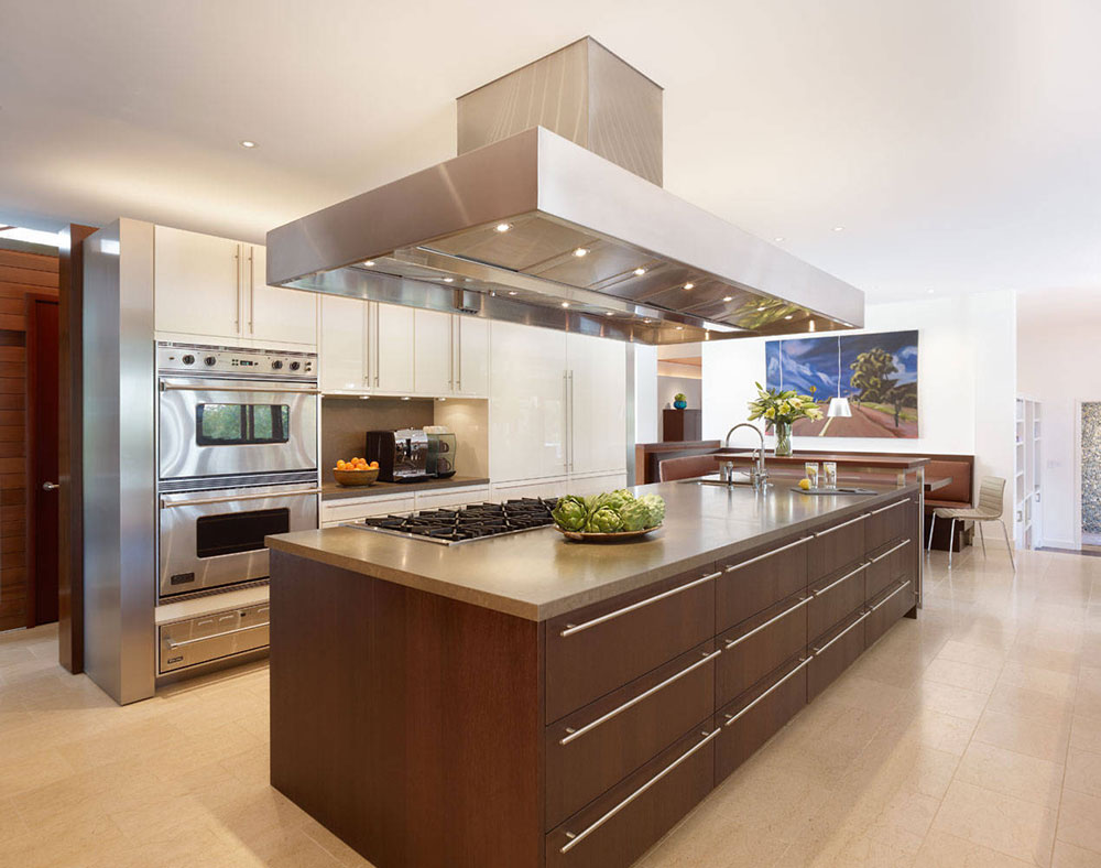 Kitchen-by-Rockefeller-Kempel-Architects The problems with the ventilation of a kitchen exhaust fan