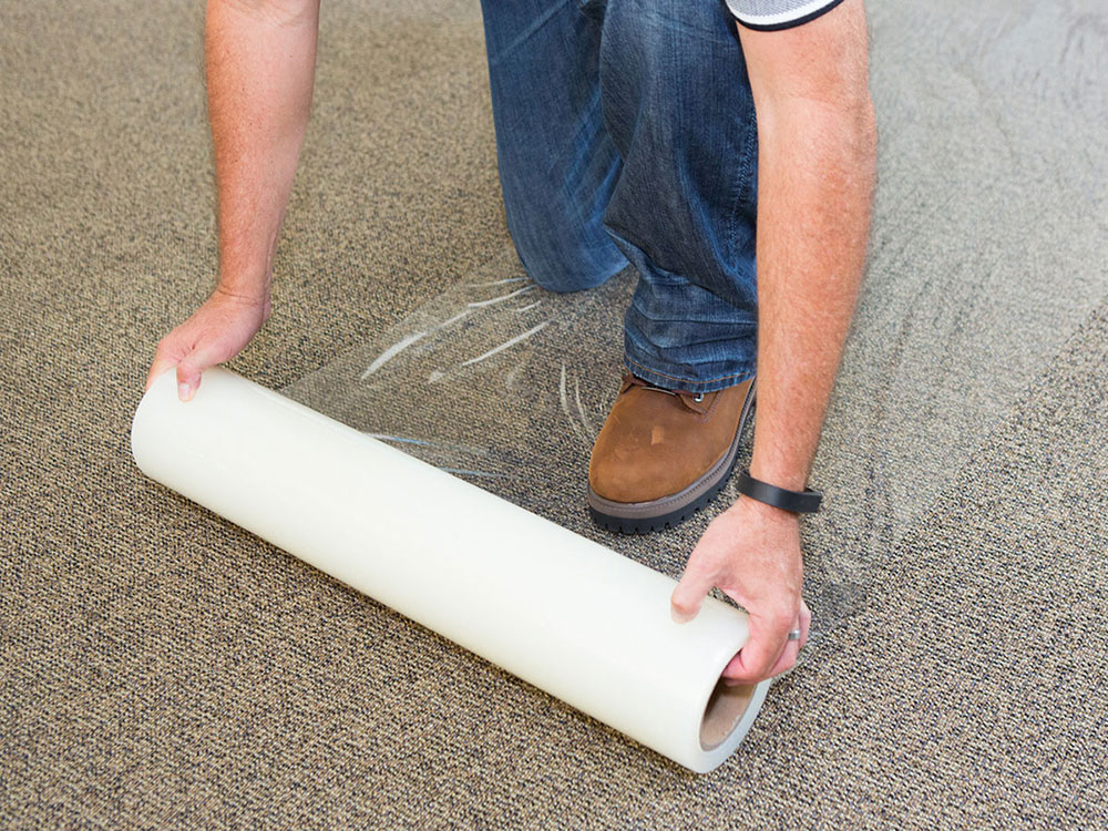 Protective Layer How To Clean A Carpet On Hardwood Floor (Great Instructions)