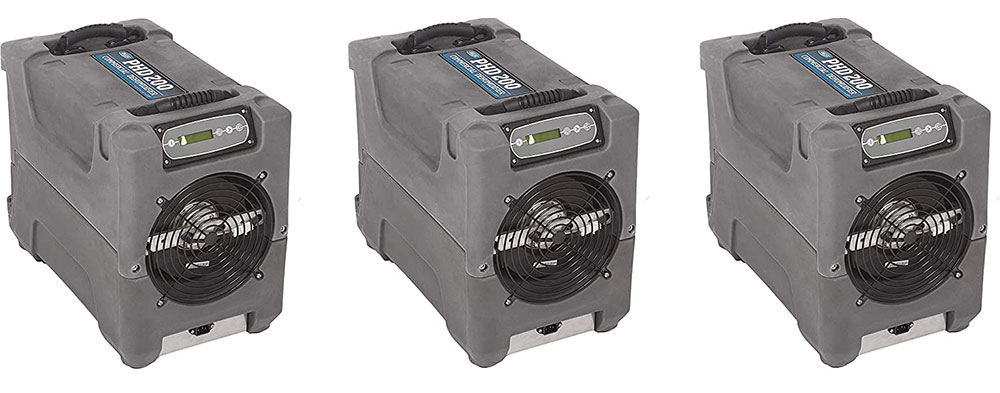 Drieaz-F515-PHD-200-Compact Dehumidifier-For large areas Use a crawl space dehumidifier to handle your crawl space air