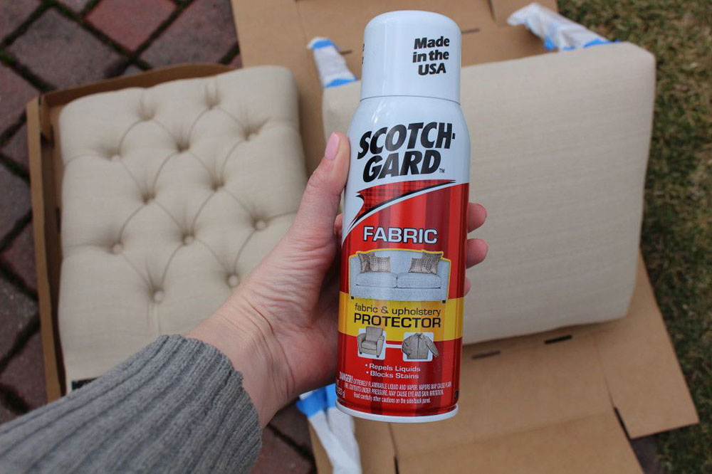 Fabric spray How to clean microfiber furniture so that it looks new