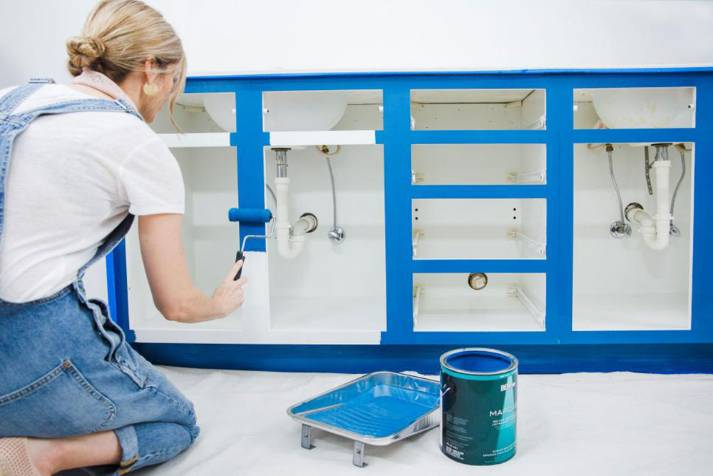 paint1 How to paint a washbasin quickly and stress-free