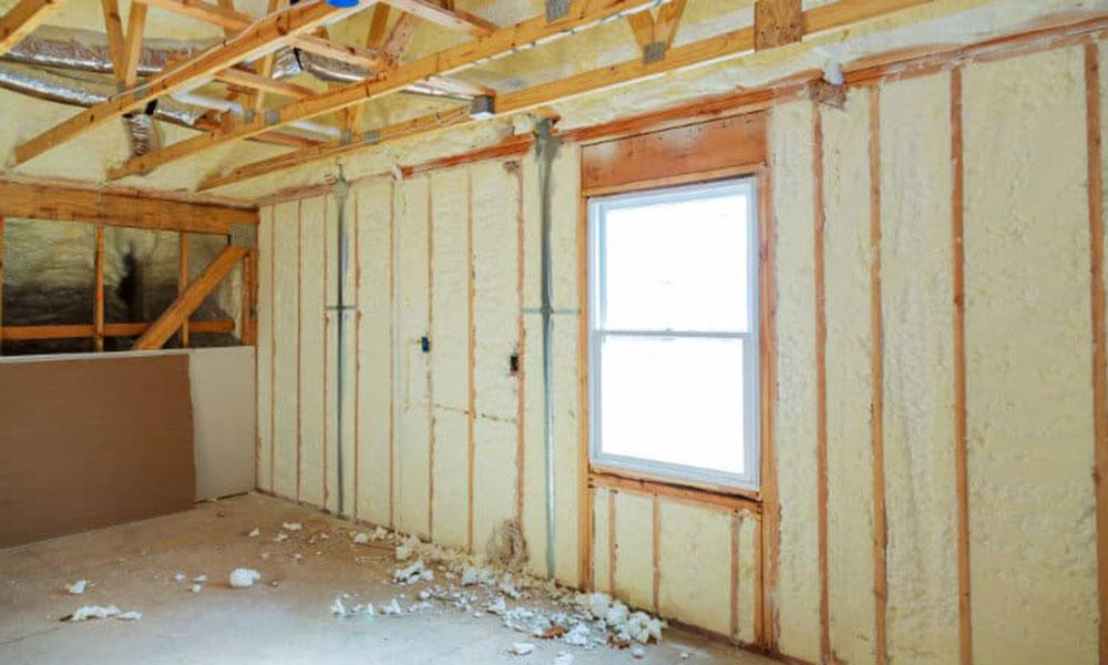 open foam spray foam insulation against fiberglass and that's better