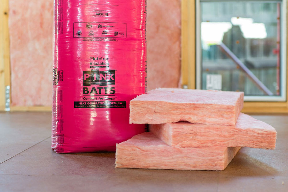 Batts spray foam insulation against fiberglass, and that's better