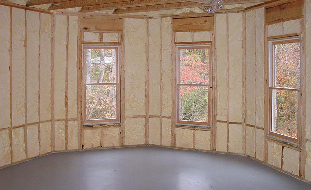 Spray longlife spray foam insulation against fiberglass, and that's better