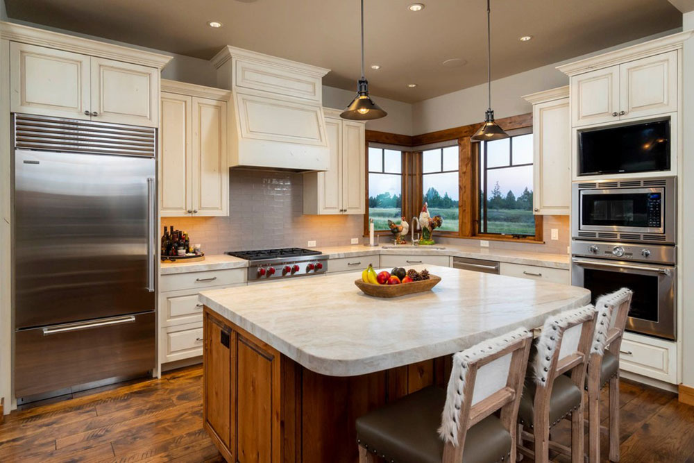 Rustic-Manor-by-Black-Rock-Construction-Inc What is the standard worktop depth that should be aimed for?  (Replied)