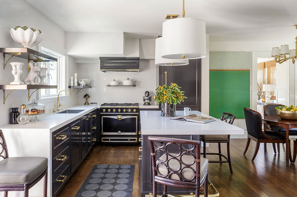 Marin-County-Shingle-Style-by-Laura-Hunt-Design What is the standard worktop depth that should be aimed for?  (Replied)
