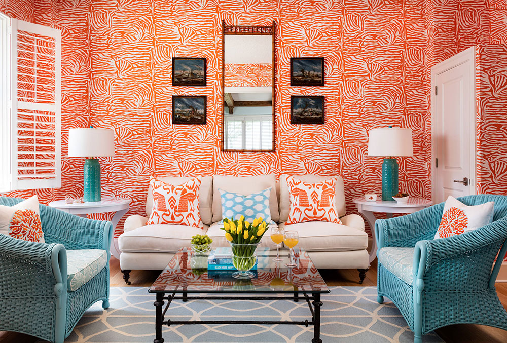 Living-With-Color-by-GIL-WALSH-INTERIORS The best colors for living room colors that you can try to improve your room