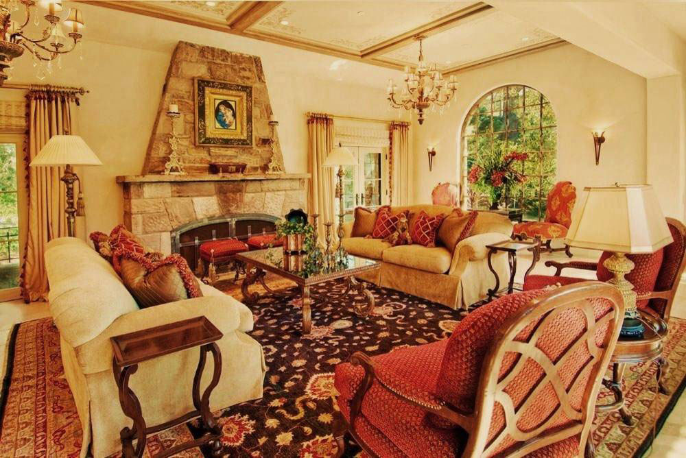 Debra-Campbell-Design-by-Debra-Drake-Design The best living room colors to try to improve your room