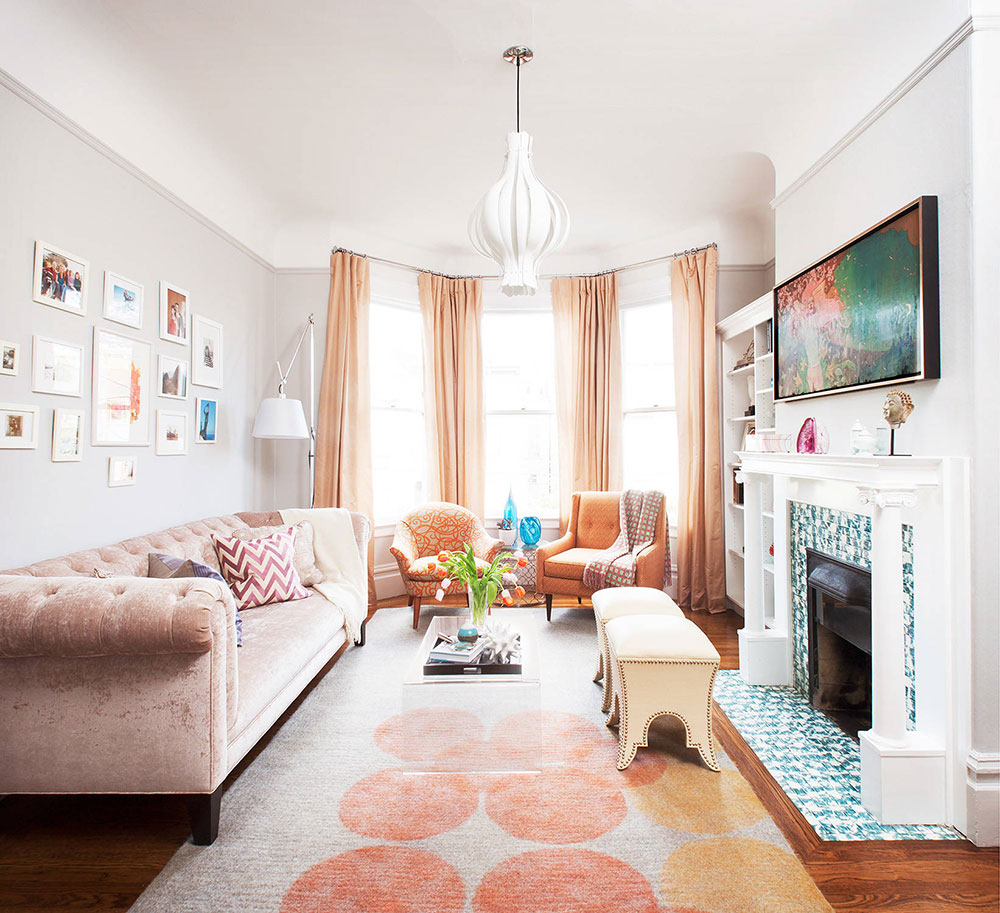 San Francisco Chic Victorian by Coddington Design The best colors for living room that you can try to improve your room