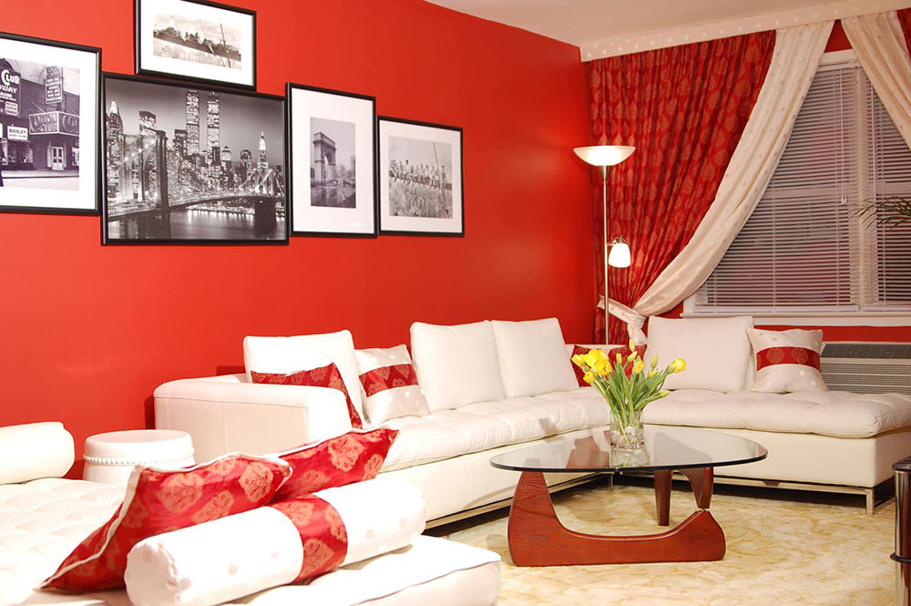 Contemporary-New-York-Design-by-Marie-Burgos-Design The best living room colors to try to improve your room