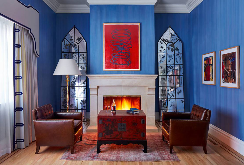 Lake-Street-San-Francisco-von-Wynne-Taylor-Ford The best colors for living rooms that you can try to improve your room