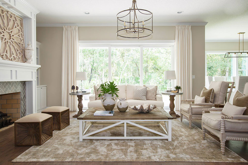 The-Bluffton-by-Cottage-Home-Company The best living room colors to try to improve your room