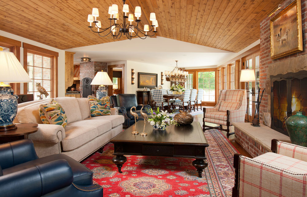 traditional-living-room-of-archetype-design-studio-LLC The best tips for interior design and decoration of the 70s that you can use