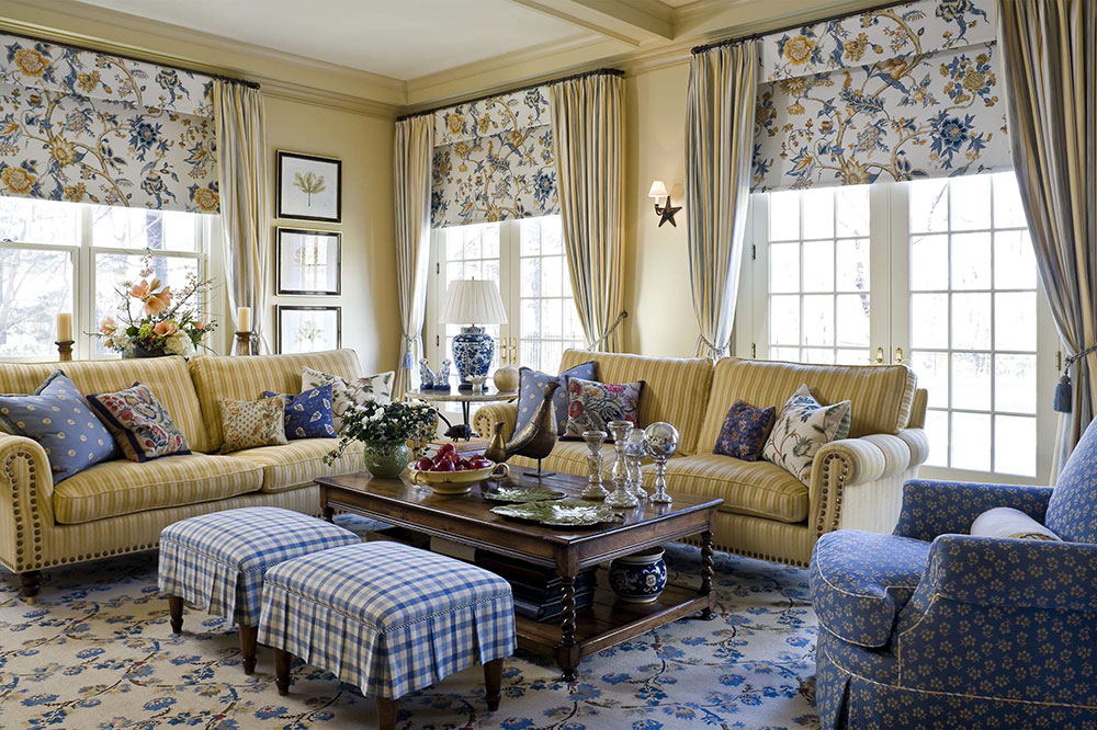 Living-Room-by-Lauren-Ostrow-Interior-Design-Inc The best tips for interior design and decoration of the 70s that you can use