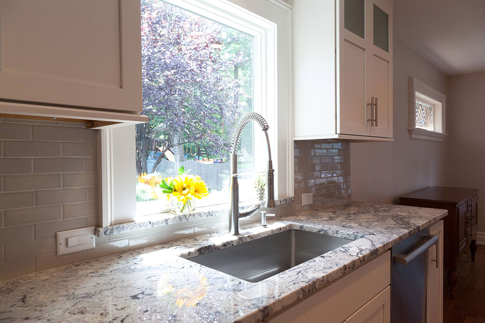 Beautiful-garden-view-from-kitchen-by-KraftMaster-Renovations What is the standard worktop overhang?  (Replied)
