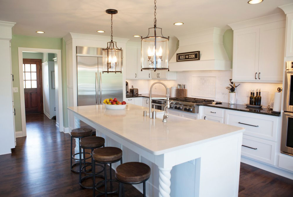 Timeless-White-Kitchen-by-Zuern-Kitchen-Design-Showroom What is the standard worktop overhang?  (Replied)