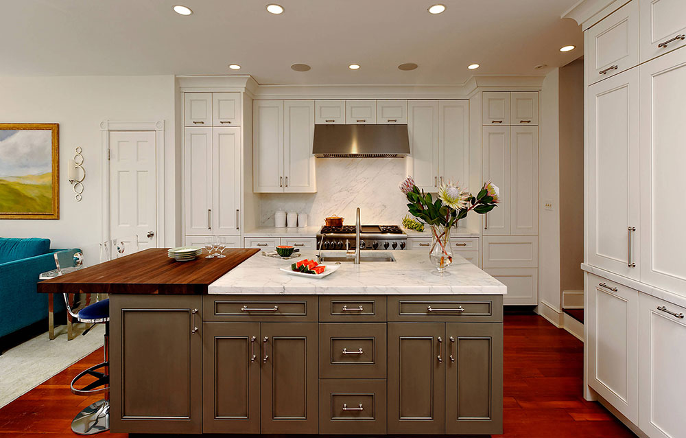 Space for everyone by Jennifer Gilmer Kitchen bath What is the standard worktop overhang?  (Replied)