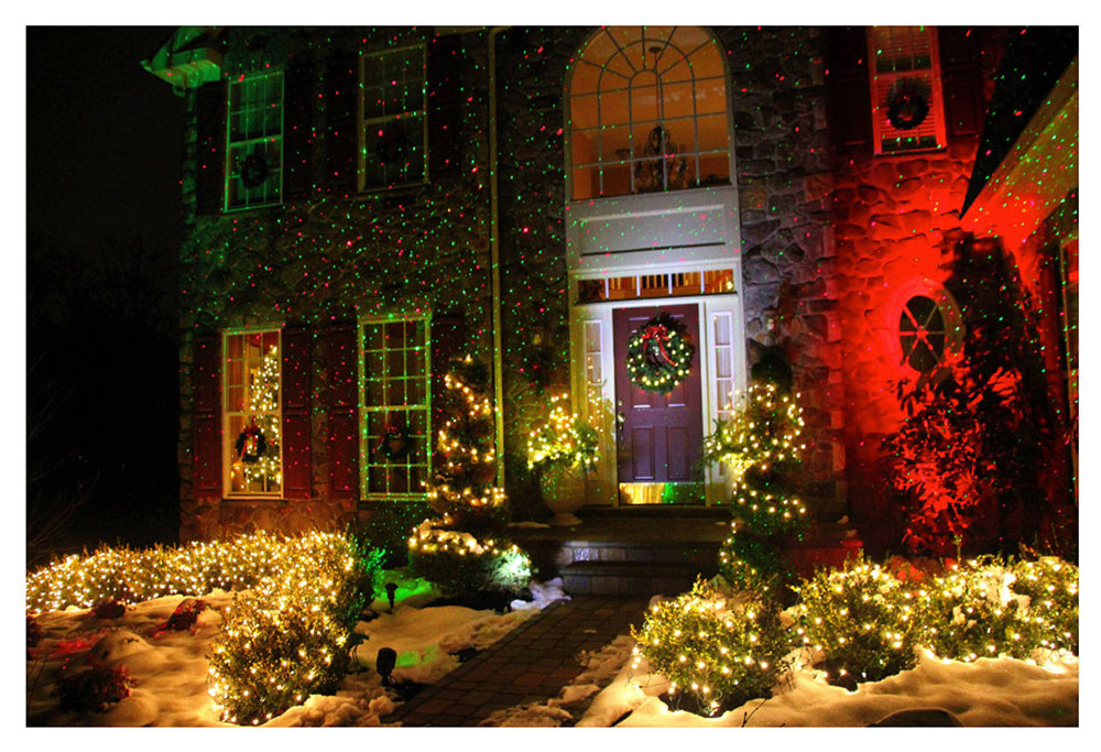 Outdoor-Spaces-by-BlissLights Ideas for outdoor Christmas lights to decorate your home