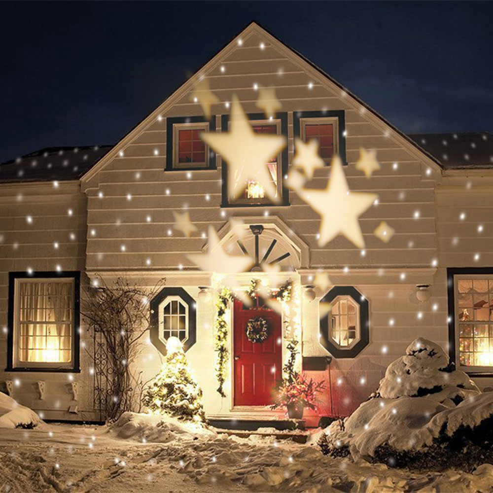 Star ideas for outdoor Christmas lights that you can use when decorating your home