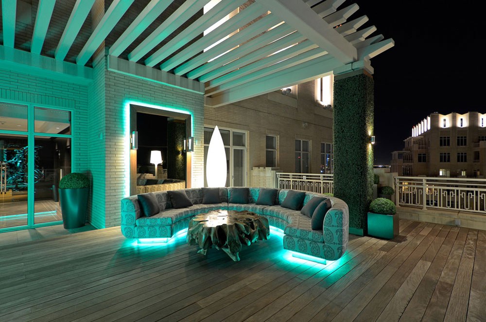 Modern-McKinney-Avenue-von-Harold-Leidner-Landscape Architects Fantastic ideas for the ceiling lighting that you can use in your home