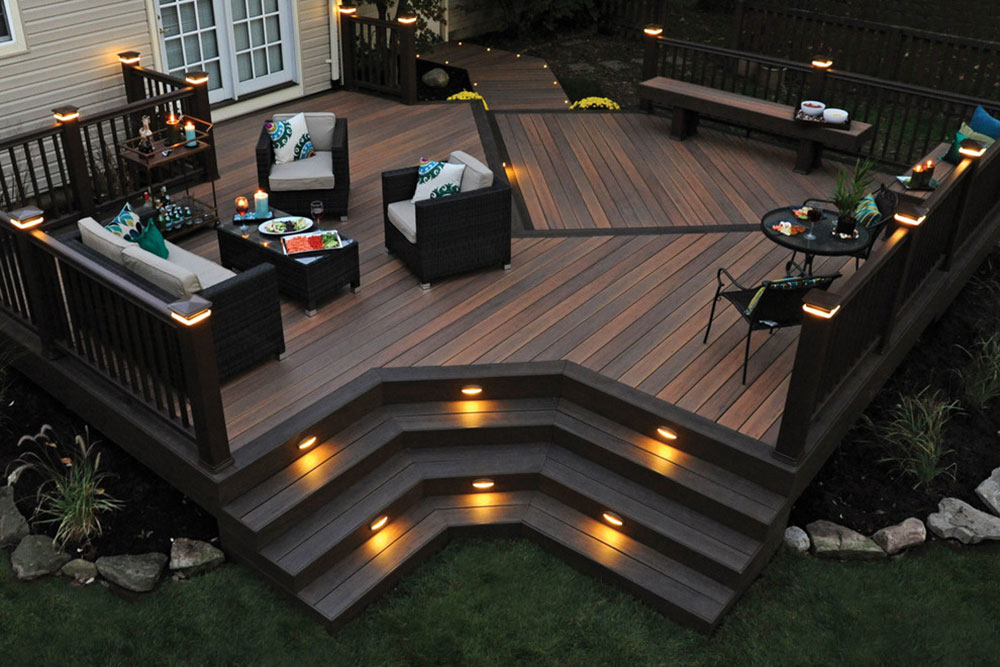 Timbertech Legacy Decking-by-Stellar Decks Great ideas for deck lighting that you can use in your home