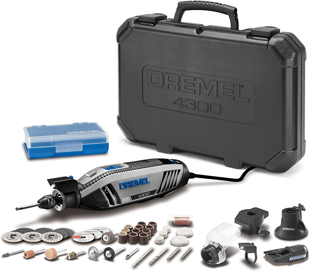 Dremel 4300-5-40 Tool Kit The best grout removal tool you can get from Amazon
