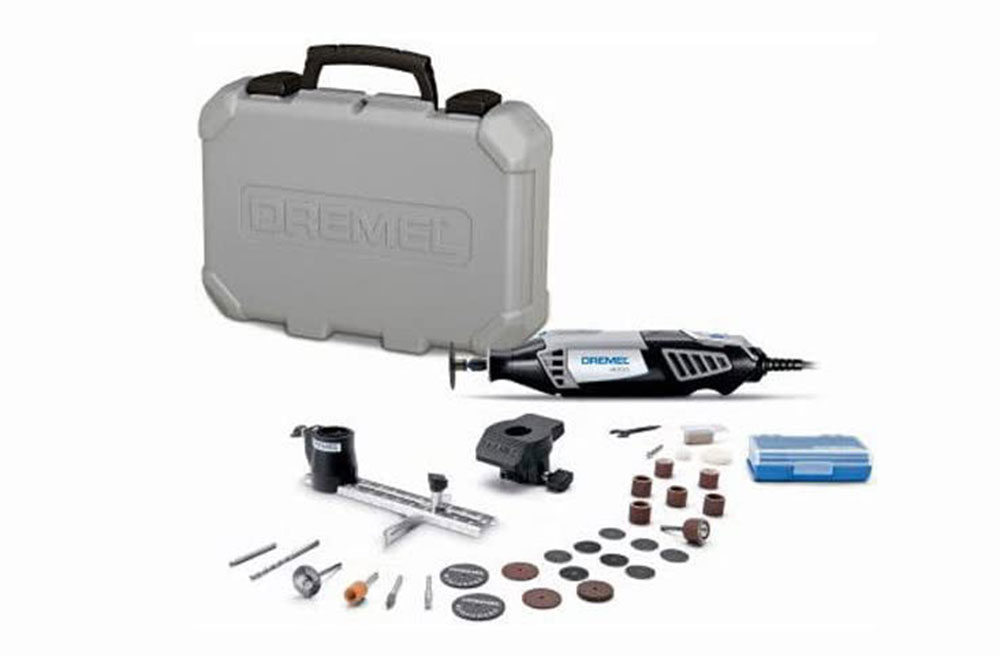 Dremel 4000-2-30 Heavy Duty Rotary Tool Kit The best grout removal tool you can get from Amazon