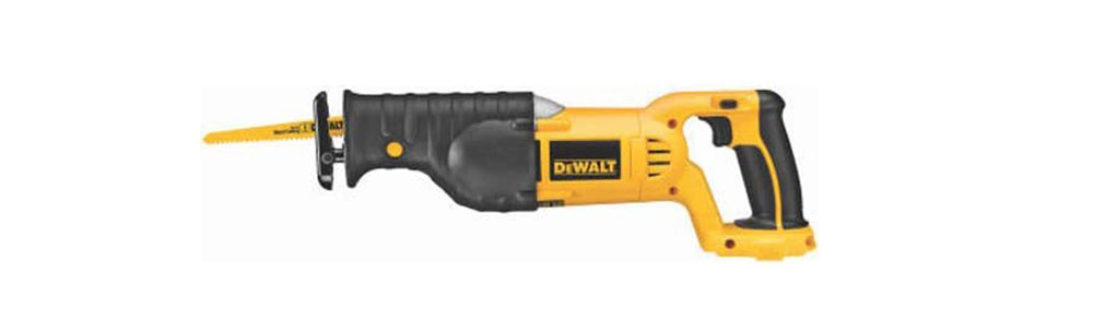 DeWalt-DC385B-18V Cordless Saber Saw-1 The best grout removal tool you can get from Amazon