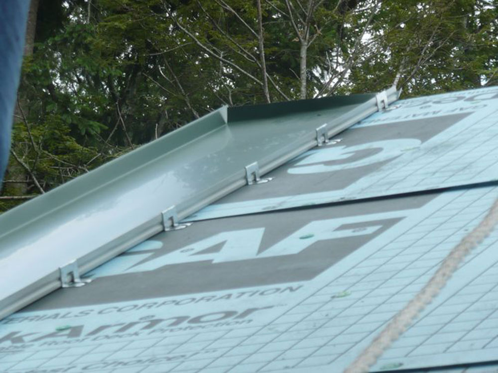 Using a synthetic base3 How to install metal roofs over shingles (yes you can)