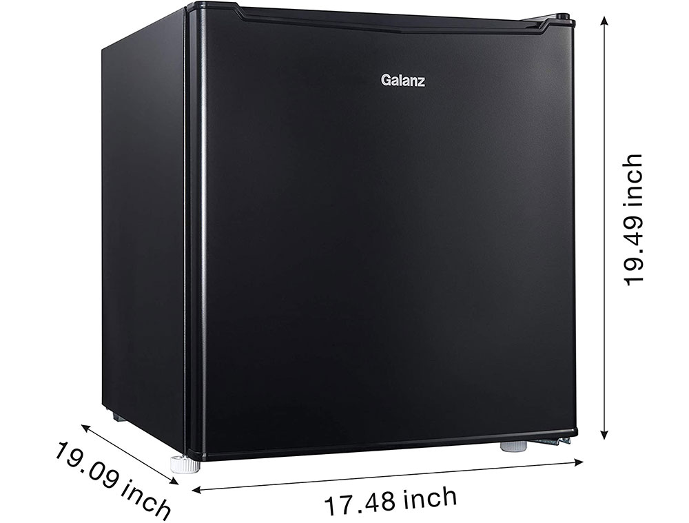 SupernonGalanz Compact Mini Freezer The Best Freezer Options (Curated List)