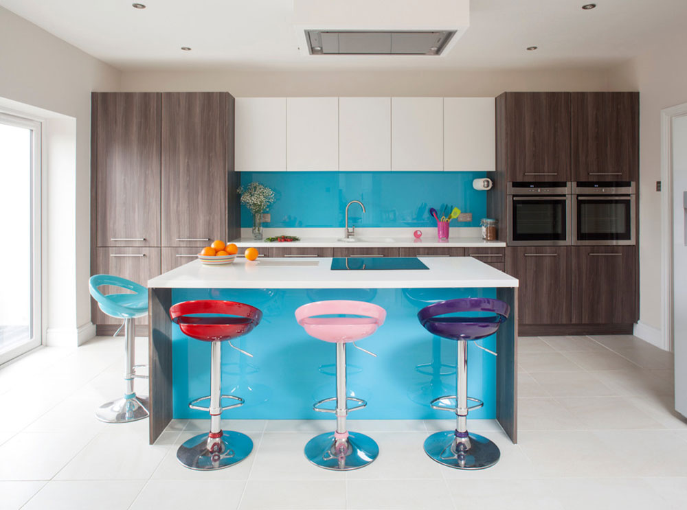 Dynamic-City-Kitchen-by-Bath-Kitchen-Company How to Decorate a Kitchen Island (Cool Ideas and Designs)
