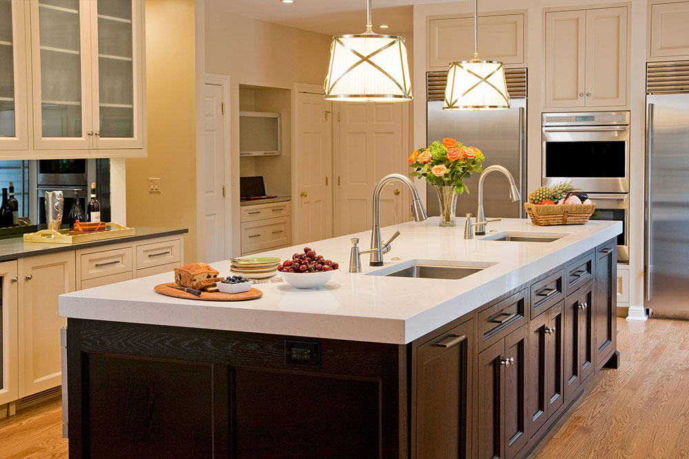 Kosher-Kitchen-by-Superior-Woodcraft-Inc How to Decorate a Kitchen Island (Cool Ideas and Designs)