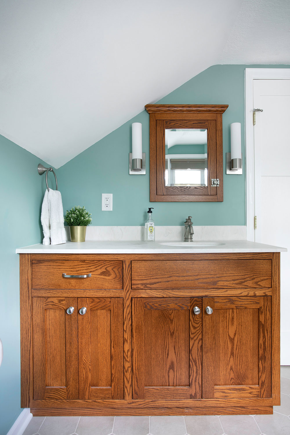 Longfellow-kitchen-bathroom-and-dirty-room-by-Emily-Blonigen What to do with old kitchen cabinets (repurposed cabinet ideas)
