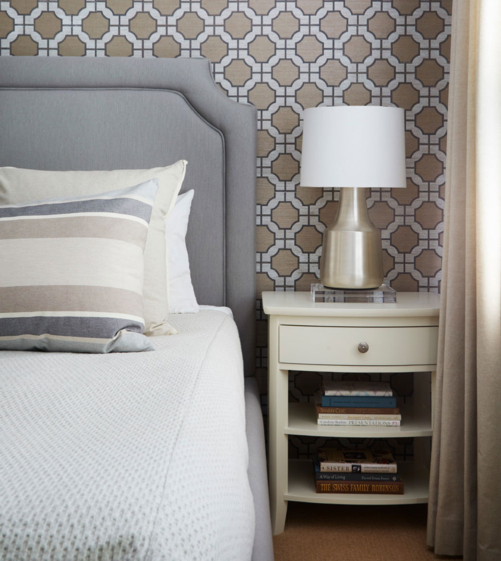 Modern living in a classic home from Jeannie Balsam Interieurs How to tidy up your bedroom and make it look great