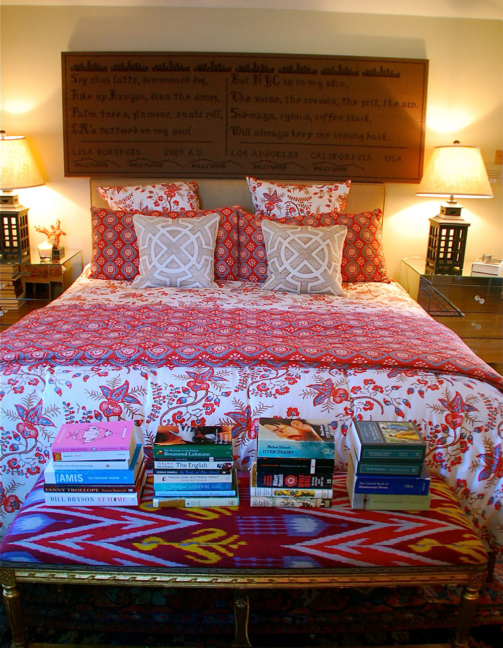 Bedroom-by-Lisa-Borgnes-Giramonti How to tidy up your bedroom and make it look great