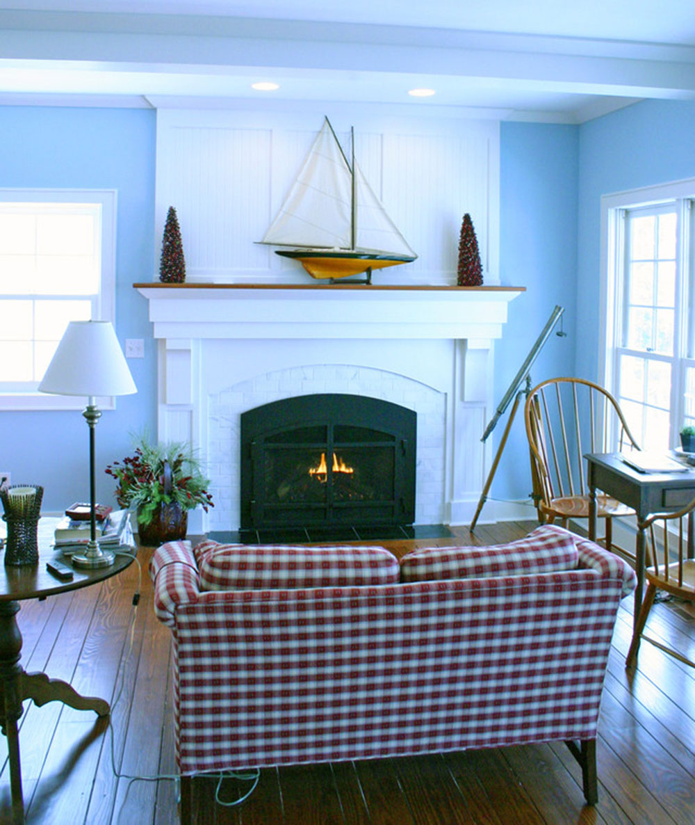 Artist-Bay-Addition-by-Highland-Builders-LLC How to decorate a fireplace mantel (neat decorating ideas)