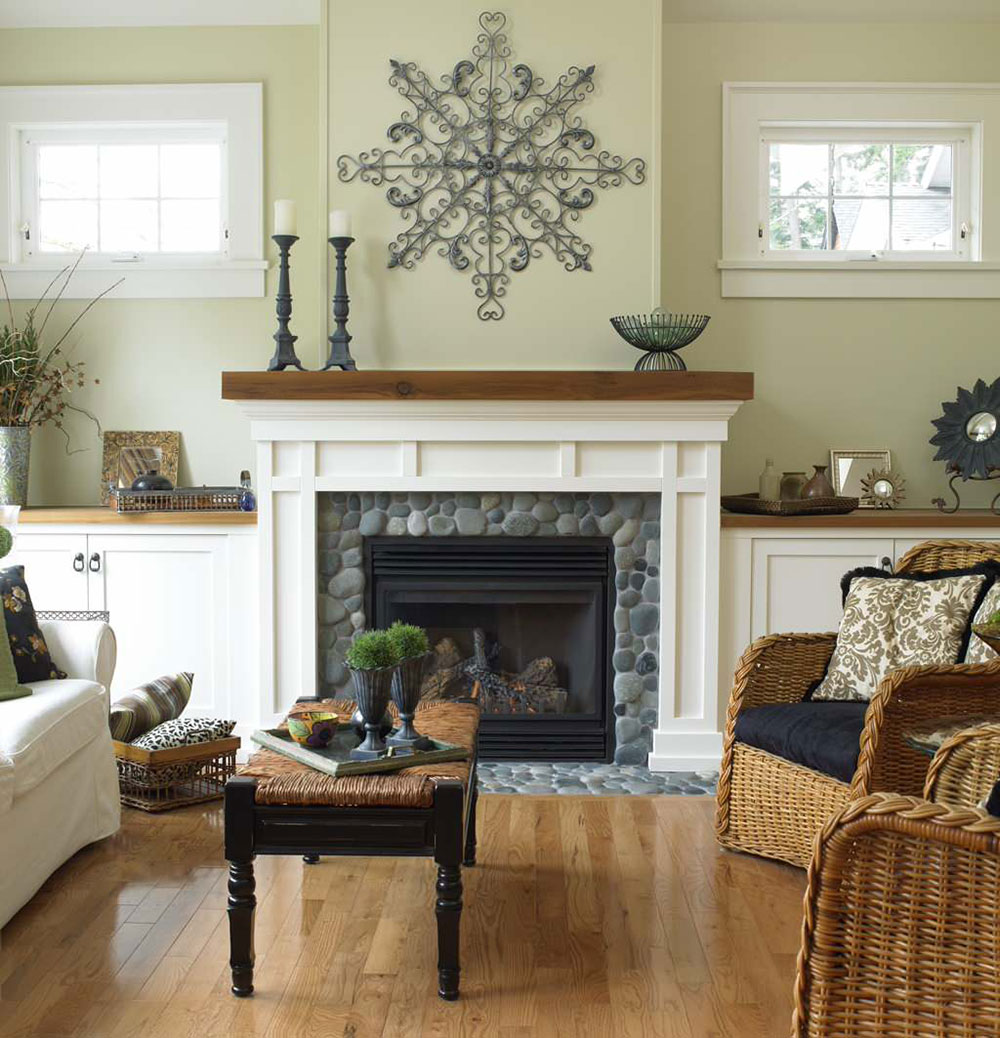 Cape-Cod-Victoria-by-Christopher developments How to decorate a fireplace cladding (neat decoration ideas)