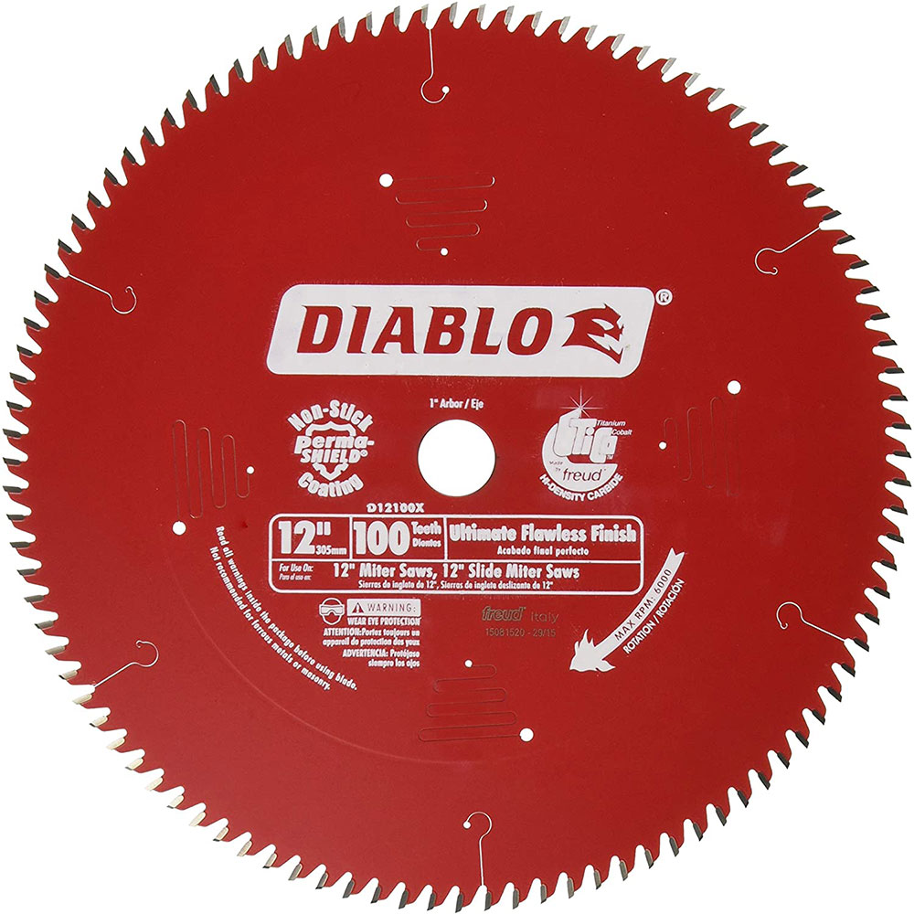 Freud-D12100X saw blade How do I cut a laminate board and which circular saw blade should I use?