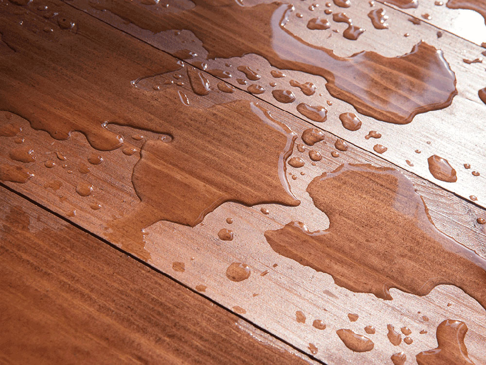 waterleack How to repair a wet laminate floor and avoid damage