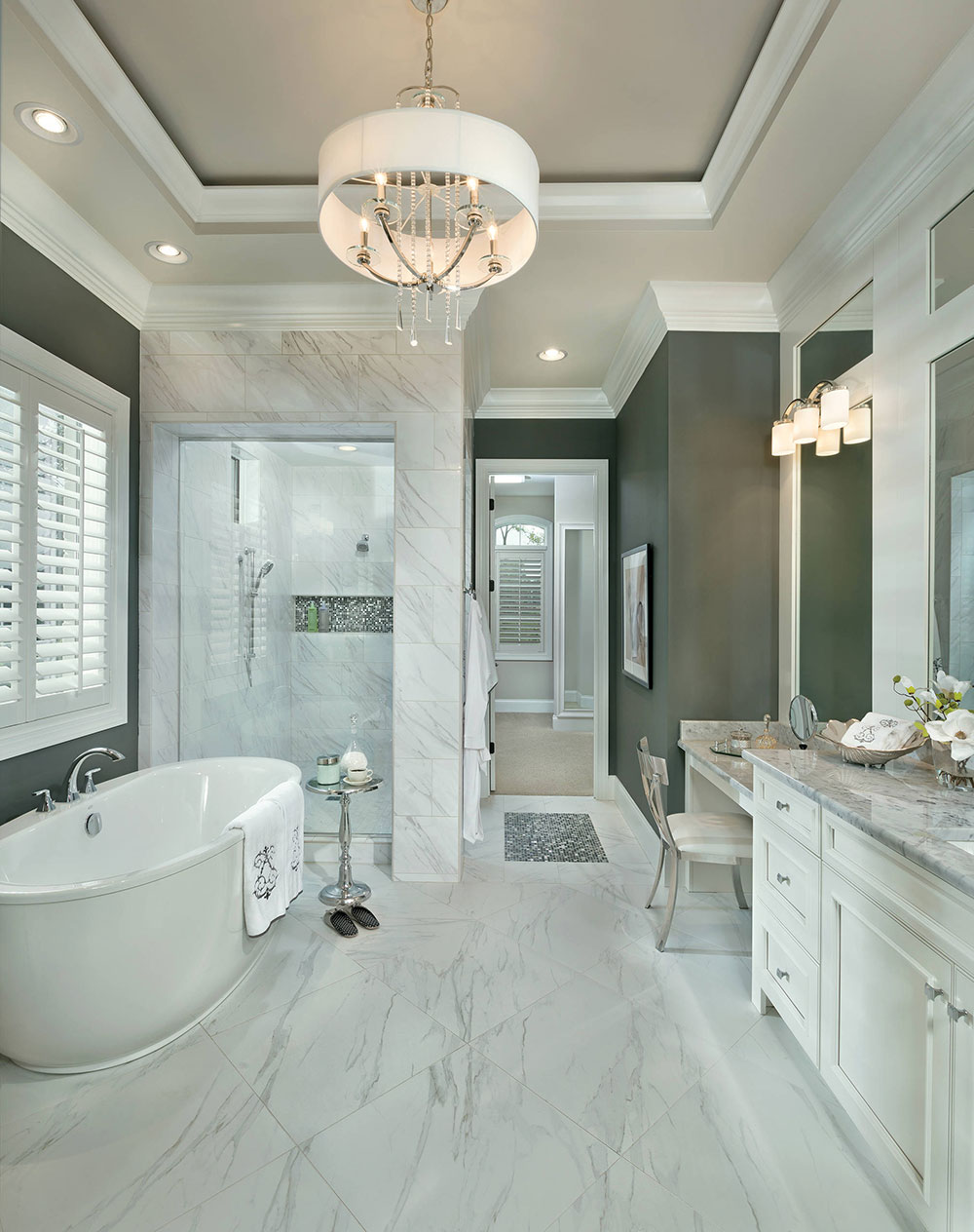 Asheville-by-AR-Homes-Cincinnati-OH How to clean the shower floor and make it sparkling clean