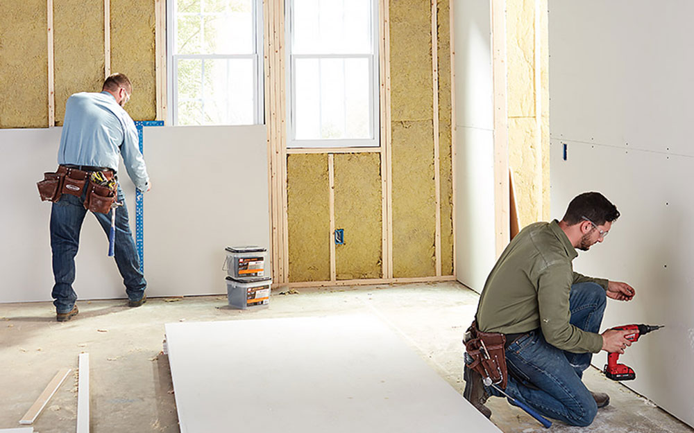 Plasterboard How to soundproof thin walls (quick guide)