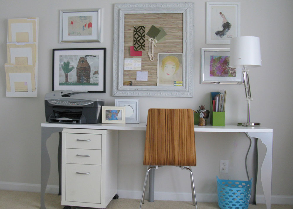 Big-Round-Pizza-Box-Office-by-Love-Your-Room-LLC Modern home office ideas with which you can create your perfect space