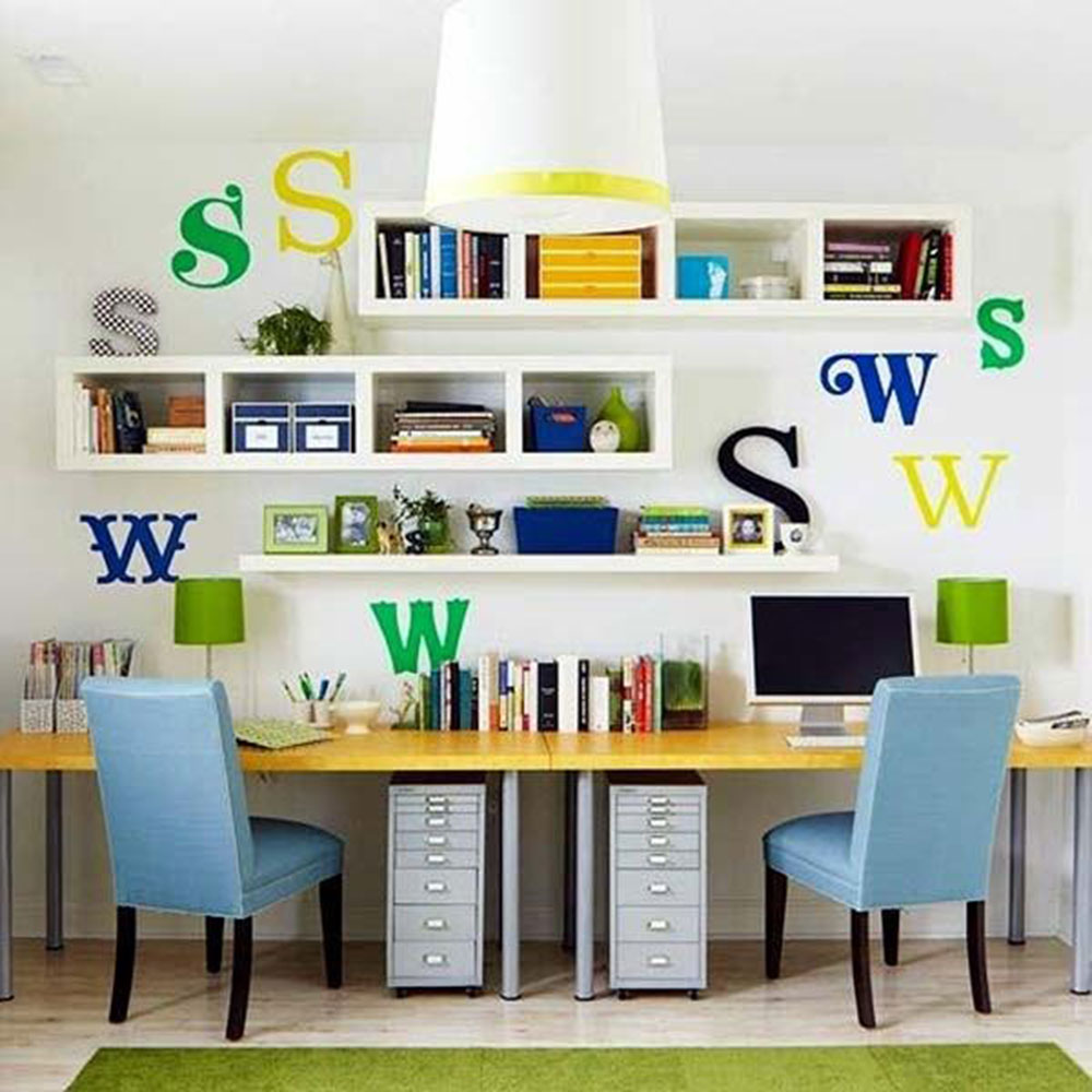 kinder-table1 Modern home office ideas with which you can create your perfect space